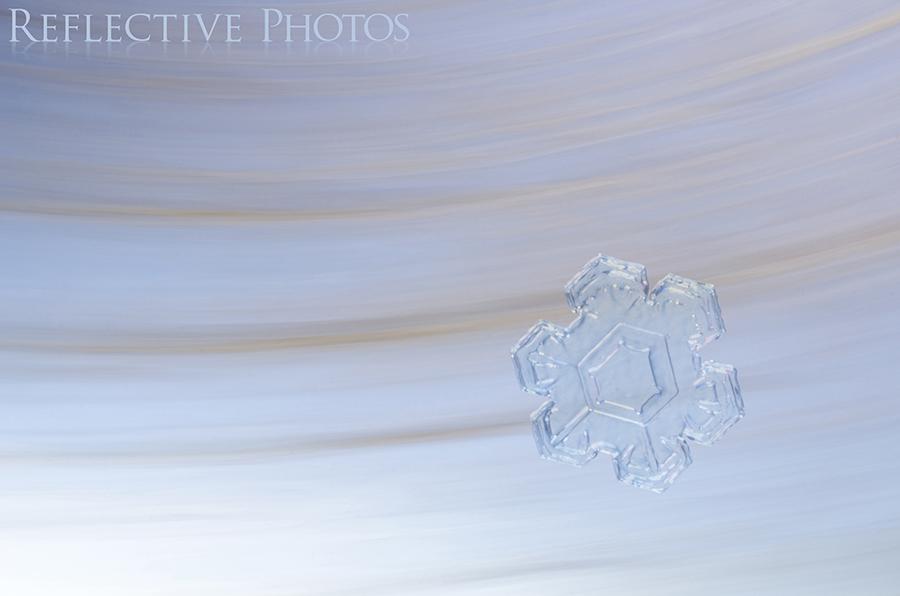 Swept Away Snowflake