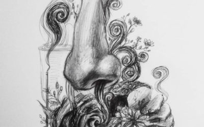 Art Ink – 7 – The Sweet Smell of Roses – A Ghost Story Inspired by King Saul's Art