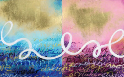 Art Ink – 11 – Diptych in Love – A Short Story Inspired by Dorothy Siemens' Art